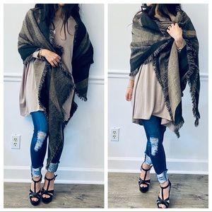 Gorgeous Cashmere blanket scarf shawl